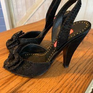Betsey Johnson heels size 7m!